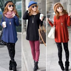 Hot Women Casual Knit Pullover Jumper Loose Long Sleeve Sweater Knitwear Tops #Unbranded #KnittedSweater