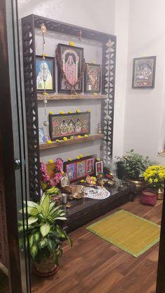 49 ideas bedroom organization diy ideas space saving shelves for 2019 House Design, Room Design, Decor, Bedroom Organization Diy, Pooja Room Door Design, Indian Home Decor, Room Door Design, Dining Room Spaces, Home Decor