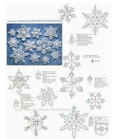 Best 12 Vintage book with crochet Christmas snowflakes patterns The listing is for an eBook (electronic book) IN ENGLISH LANGUAGE (written – SkillOfKing. Crochet Christmas Ornaments, Christmas Crochet Patterns, Snowflake Ornaments, Christmas Snowflakes, Christmas Knitting, Christmas Decorations, Crochet Diagram, Crochet Motif, Diy Crochet