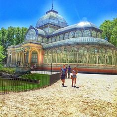 Digamos que hablo de #Madrid! Palacio de Cristal en el Parque de El Retiro