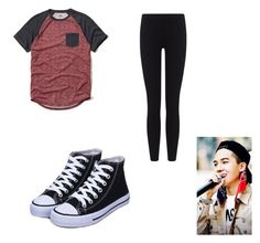 """A day with Mino"" by k-pop21 ❤ liked on Polyvore featuring James Perse and Hollister Co."