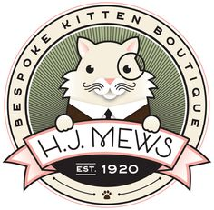 HJ Mews Cat Products by HJ Mews (via Creattica)