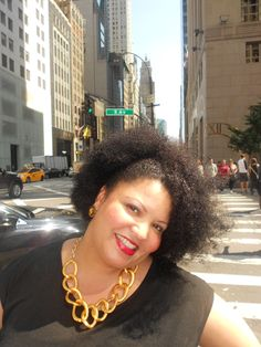 Michelle (me) natural hair all the way!