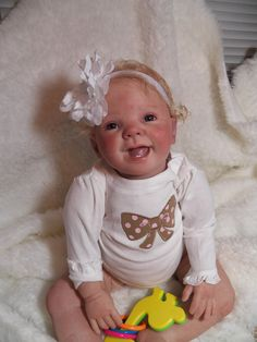 Custom Made OOAK Reborn Toddler Baby Doll   You by prettybabydolls, $400.00