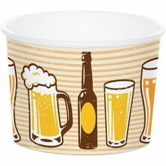 Cheers and Beers Treat Cups #cheers #partyplanning #summerparty