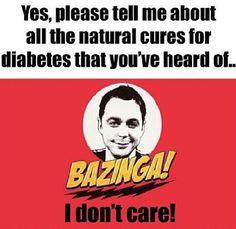 Bazinga type 1 diabetes