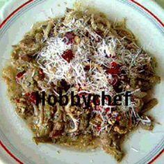Sonkás-spárgás spagetti Recept képpel - Mindmegette.hu - Receptek
