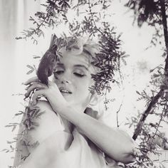 Marilyn photographed by Cecil Beaton in 1956