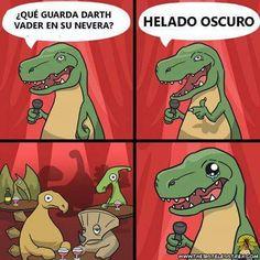 #humor en español #chiste #T-Rex