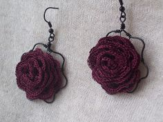 Crochet jewlery / inspiration.