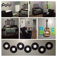 Baby Boy's Country and Western Guitar Nursery Theme Decor Pictures: Many have asked why we chose a vintage guitar nursery theme and decor. Description from pinterest.com. I searched for this on bing.com/images