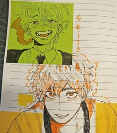 Cute Art Styles, Cartoon Art Styles, Art Drawings Sketches, Cute Drawings, Boca Anime, Arte Sketchbook, Art Anime, Wow Art, Sketchbook Inspiration