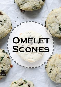 Start the morning with these flavorful Omelet Scones