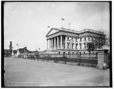 United-States-Custom-House-buildings-flags-Charleston-South-Carolina-SC-c1900