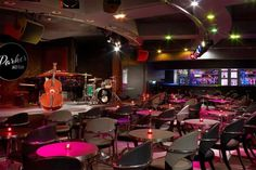 Parker Jazz Club Is Now Open in Downtown Austin - Eater Austin Pub Interior, Interior Design, Cafe Bar, Jazz Lounge, Smooth Jazz, Smooth Music, Feng Shui Design, Nightclub Design, Jazz Club