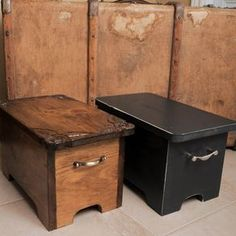 Storage Boxes, Stepping Stools Box Bench by Eugenie Giasson