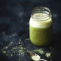 Smoothie au thé vert, banane & érable - Recette | Trois fois par jour