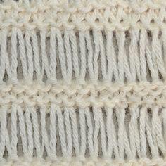My Tunisian Crochet: Tunisian Drop Stitch