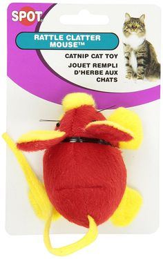 Ethical Rattle Clatter Mouse Cat Toy with Catnip *** New and awesome cat product awaits you, Read it now  : Cat toys
