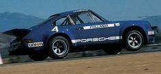 IROC 1974 PORSCHE 911 RSR  Riverside  George Follmer