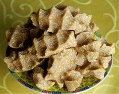 Tsampa, espécie de farinha assada consumida no Tibet.