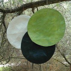 'in orbita'  papier-mâché  cm. 110    manuela antonini  decorating and crafts