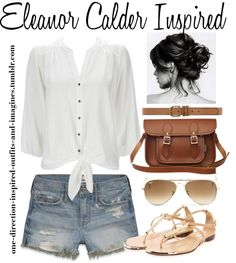 """Eleanor Calder Inspired"" by onedirectionoutfitsandimagines ❤ liked on Polyvore"
