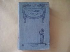 Vintage book of 1917 classic theater book A. by FoundButNeverLost, €9.00
