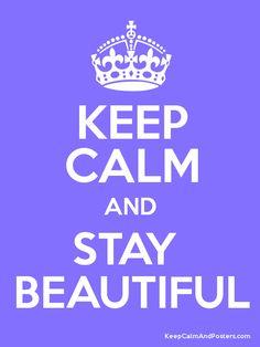 I'm always beautiful like most girls