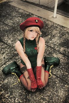 Character: Cammy White / From: Capcom's 'Street Fighter' Video Game Series / Cosplayer: IvrinielsArtNCosplay