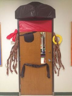 Pirate door with a Jack Sparrow