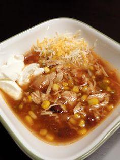 As Good As Gluten: Salsa Chicken and Black Bean Soup (Crockpot)