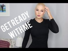 How I shave my head// Get Ready to go out - YouTube