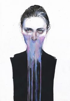 Emotionally Evocative Watercolor Paintings by Agnes-Cecile | Hi-Fructose Magazine