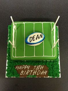Cake Decorating Course Rugby : 1000+ images about Rugby cakes on Pinterest Rugby cake ...