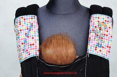 Gurtschoner für Babytrage von Huckepaeckchen auf Etsy, €18.00