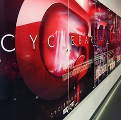 CYCLEBAR Beachwood | aliciamhansen.com  #spinning #indoorcycling #fitness #cyclebar