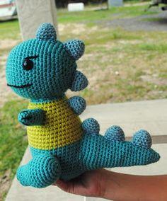 Crafty Expressions: Crochet Dinosaur