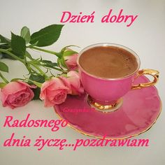 Good Morning Inspiration, Good Morning Quotes, Coffee Art, Coffee Time, Morning Blessings, Turkish Coffee, Tea Cakes, Tableware, Greek Language