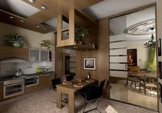 Let your kitchen remodeling ideas come to life – Home Decor Do It Yourself Small Space Kitchen, Kitchen On A Budget, Small Spaces, A Shelf, Shelves, Kitchen Decor, Kitchen Design, Kitchen Ideas, Kitchen Cabinet Remodel