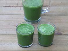Fresh Green Juice - Raw and vegan.