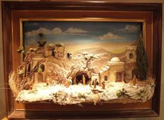 Immagine correlata Cribs, Nativity, Projects To Try, Christmas Decorations, Miniatures, Scene, Painting, Google, Ideas