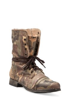 Steve Madden Troopale Boot in Camo