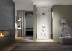 Bathroom Modern Shower Render