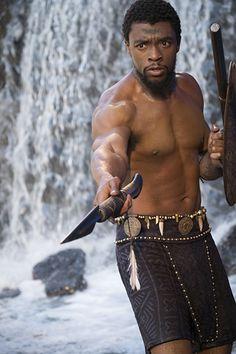 Black Panther Chadwick Boseman Image 4