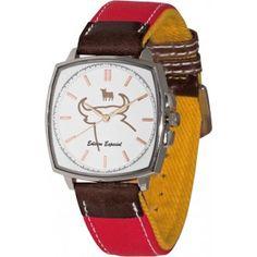 Reloj COSSÍO TO-1191-2. Duración de la batería 3 años.  #Reloj #ModaTaurina #Toros #Muleta - Tiendatoro.com