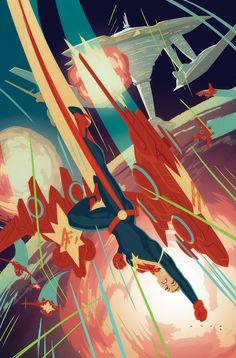 Captain Marvel 4 by Krista Feranka