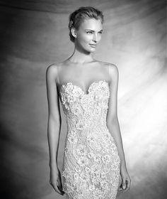 Pronovias > VERANDA - Vestido de novia escote corazón estilo sirena
