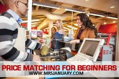 Price matching allows you to reduce your grocery bill by buying the best deals from several stores in just one stop – and it's easy. I swear. Ready? Here are 5 simple steps to begin price matching.