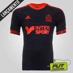 Nova camisa do Olympique de Marseille!
